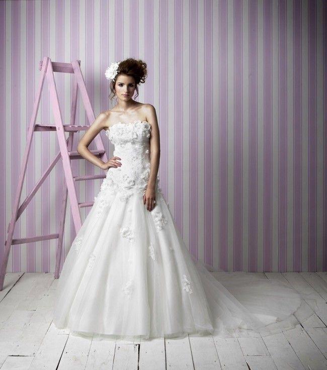Charlotte Balbier - New, , Clementine Tulle Size 12 Wedding Dress For Sale | Still White United Kingdom
