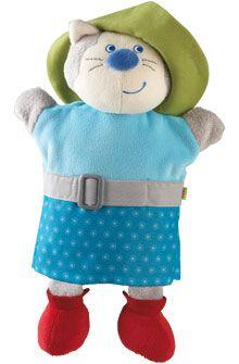 HABA - Erfinder für Kinder - Handpuppe Gestiefelter Kater - Handpuppen - Puppen - Spielzeug & Möbel