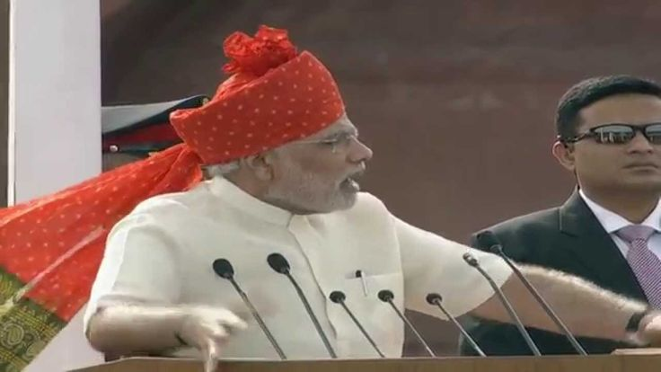 PM's speech on Independence Day from Red Fort (HD)