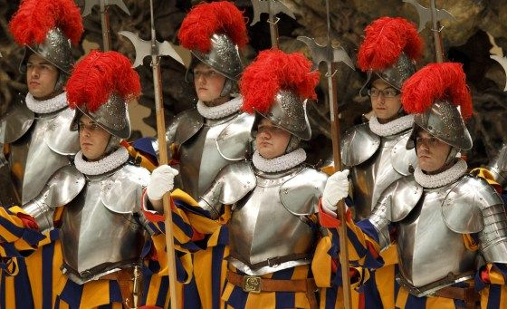 The Pope's Private Army – 10 Cool Facts About The Vatican's Swiss ...