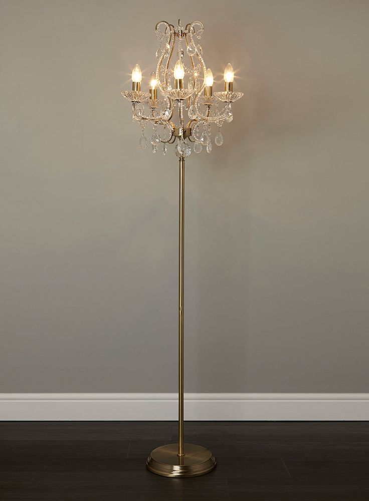 chandelier floor lamp home lighting light diy closeout