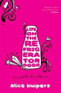 Life on the Refrigerator Door -  Alice Kuipers 10 ex  http://www.harpercollins.com/9780061370496/life-on-the-refrigerator-door