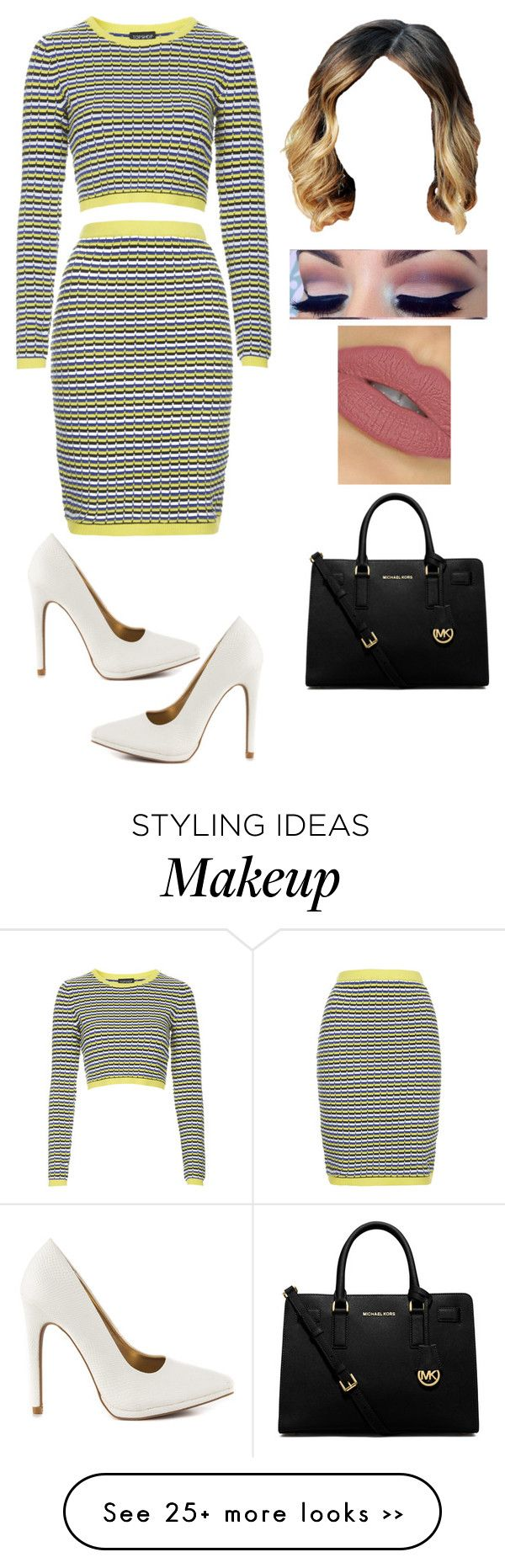 Fuzzy by kimba515 on Polyvore featuring Topshop, Qupid and MICHAEL Michael Kors