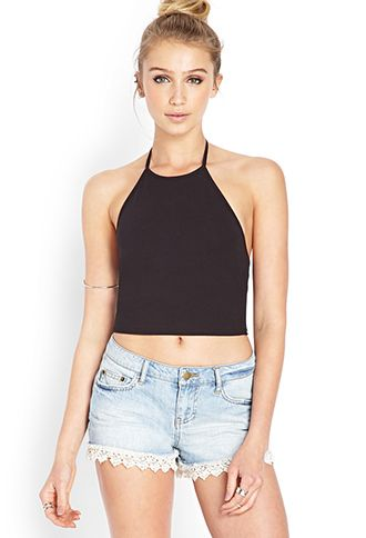 New 90s Halter Top | F21 - super cute! reminds me of back in the day. (love the white & black)
