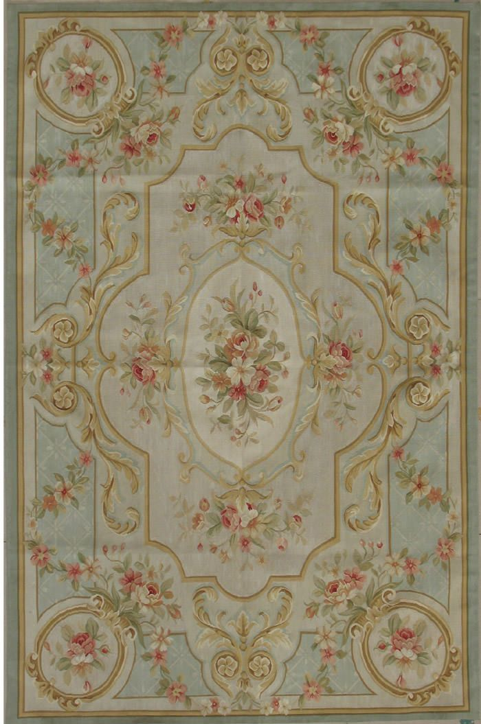 SILK FRENCH CARPETS | silk aubusson rug