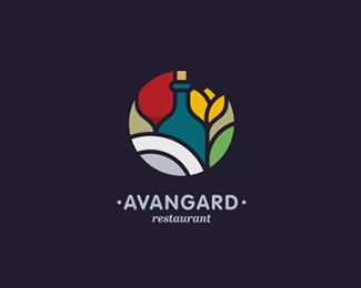 Avangard Logo Design | More logos http://blog.logoswish.com/category/logo-inspiration-gallery/ #logo #design #inspiration