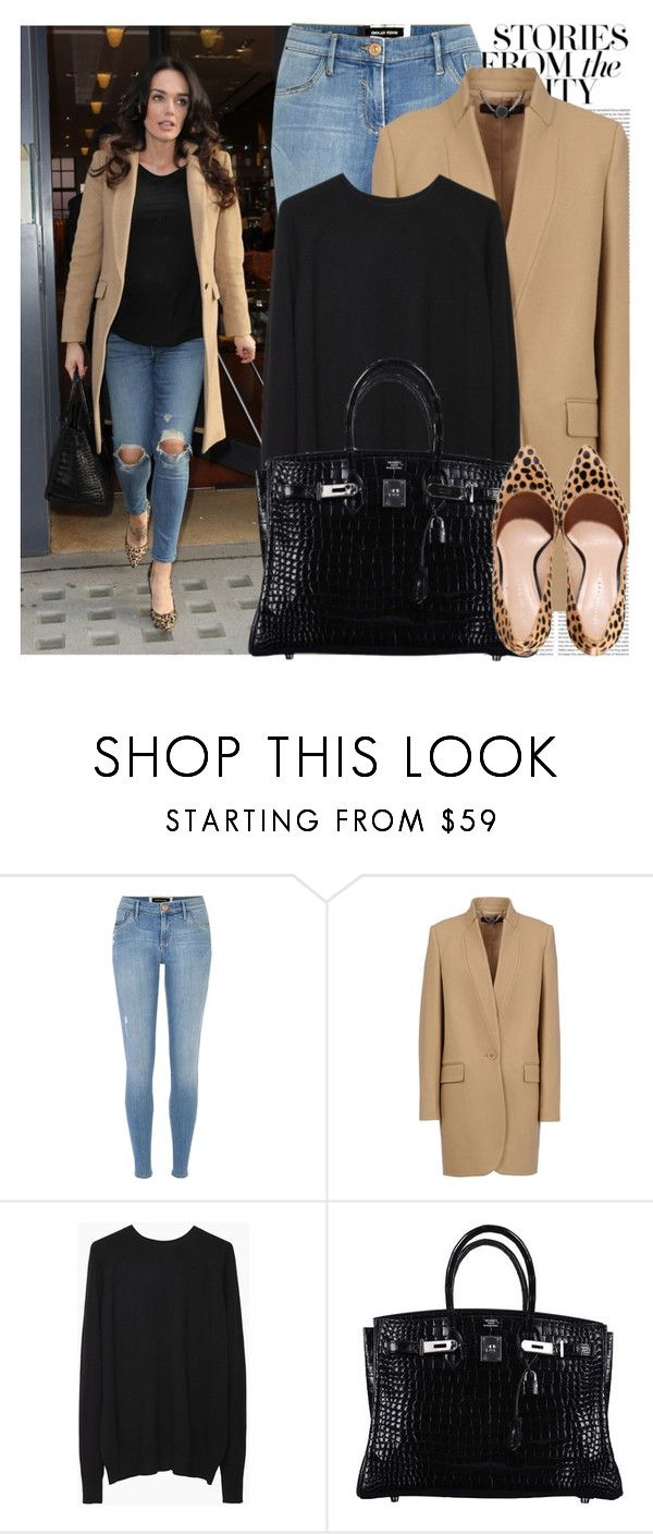 """1615. Celebrity Style: Tamara Ecclestone"" by chocolatepumma ❤ liked on Polyvore featuring Schmid, Oris, River Island, STELLA McCARTNEY, Alexander Wang, Hermès, GetTheLook, StreetStyle, LeopardPrint and CelebrityStyle"