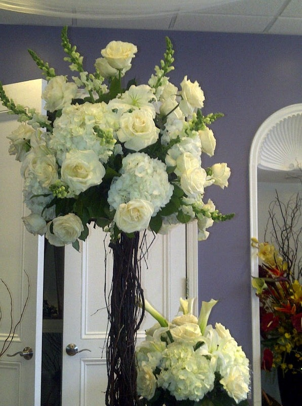 my wedding tree flowers