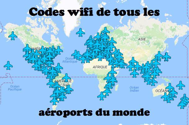 Retrouvez ici tous les codes wifi des aéroports du monde entier. Depuis n'importe quel endroit du monde, vous serez connectés pour pouvoir...