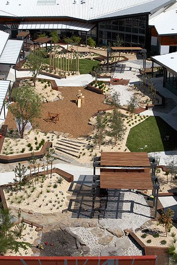 Harbour Family and Children's Centre - great design by Hassell.