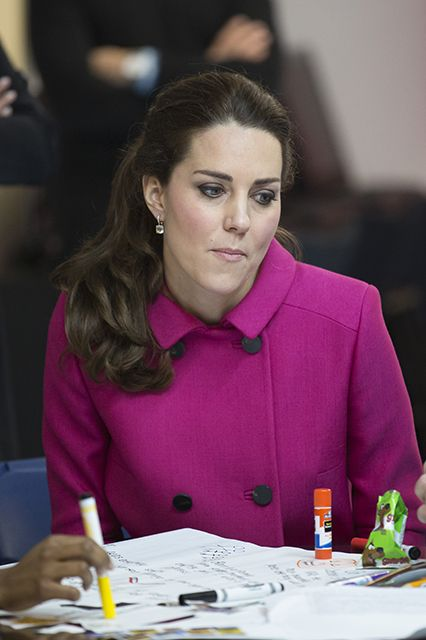 "5 Times Kate Middleton Was The Queen Of Subtle Sass #refinery29 http://www.refinery29.com/2015/01/80518/kate-middleton-birthday-sassy-pictures#slide-2 ""Coloring's only okay."": Kids Foundation, Doors Cities Kids, Fabulous Kate, Cambridge 2014, Cambridge Catherine, Middleton Photos, Catherine Middleton, Kate Middleton, Catherine Kate"