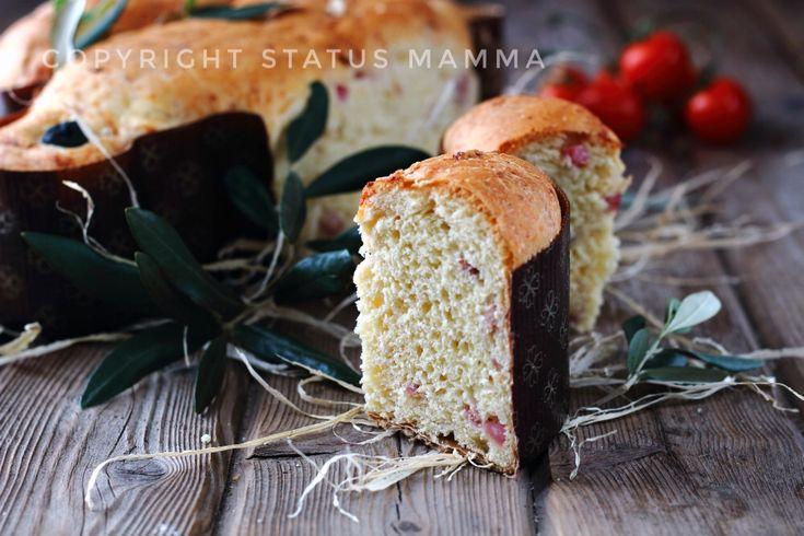 Colomba salata pasquale rustica semplice e gustosa ricca di salumi e formaggi come da tradizione dei classici salati sofficissimi, non perdetevela!