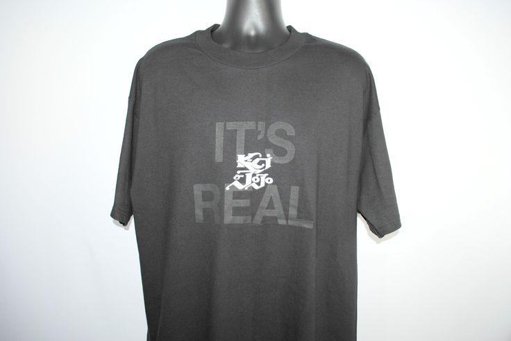 1999 K-Ci & JoJo It's Real Rare Vintage Ex-Jodeci Tell Me It's Real Era Classic 90's R&B Slow Jam Promo Tour T-Shirt