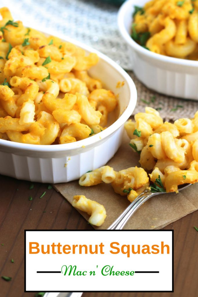 macaroni & cheese made secretly healthy with a butternut squash cheese ...