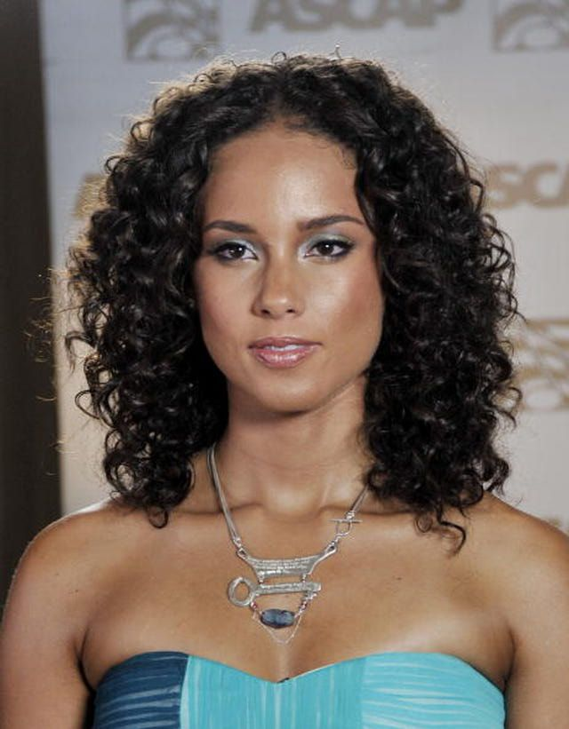 Groovy 1000 Ideas About Alicia Keys Short Hair On Pinterest Dry Hair Short Hairstyles Gunalazisus