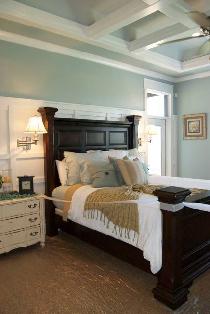 Master Bedroom | www.mcewancustomhomes.com