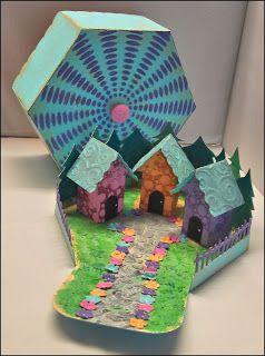 Tando Creative: VILLAGE IN A BOX KIT TUTORIAL