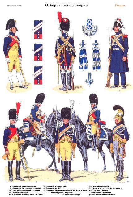 Guerres Napoléoniennes №77 sergent de gendarmerie d'élite de la Légion Impériale…