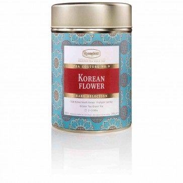Tea Couture Ronnefeldt Korean Flower (100g). (Zum Shop: http://www.hotel4home.com/restaurant-bar/tee-zubehoer/tea-couture-ronnefeldt-korean-flower-100g.html)