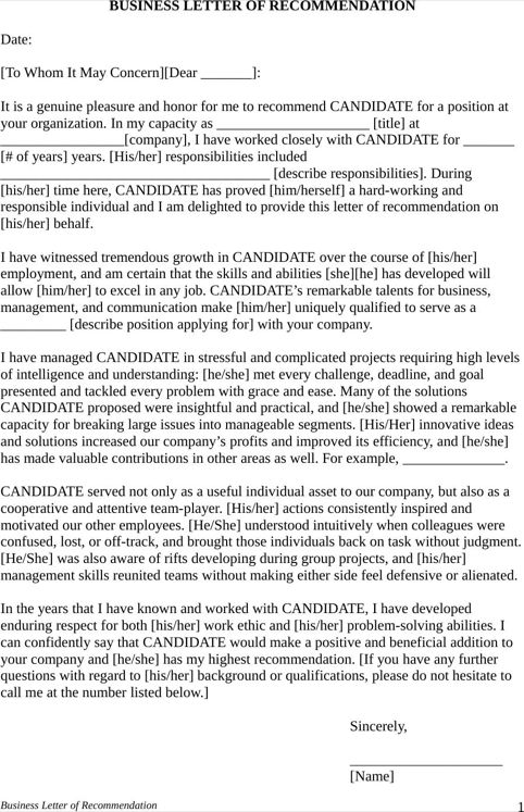 442 best Templates\Forms images on Pinterest Role models - letter of recommendation templates