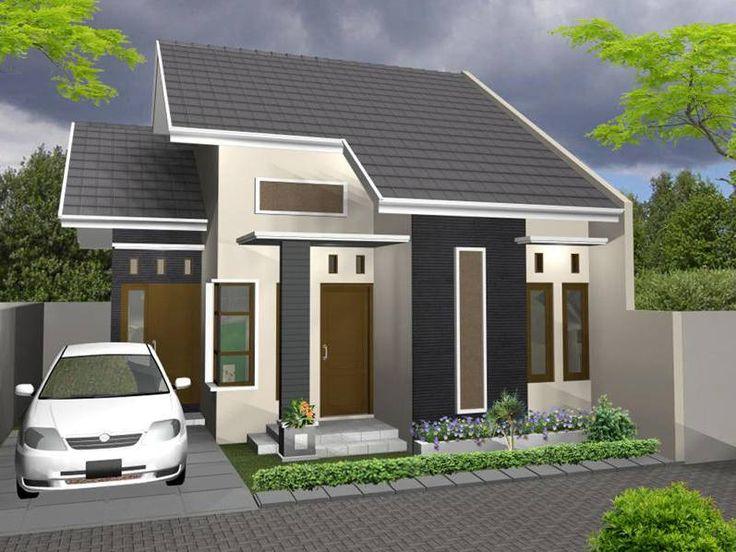 Model Rumah Minimalis Modern 1 Lantai 3 Kamar Tidur