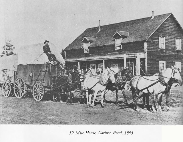 59 Mile House, Cariboo Road, 1895