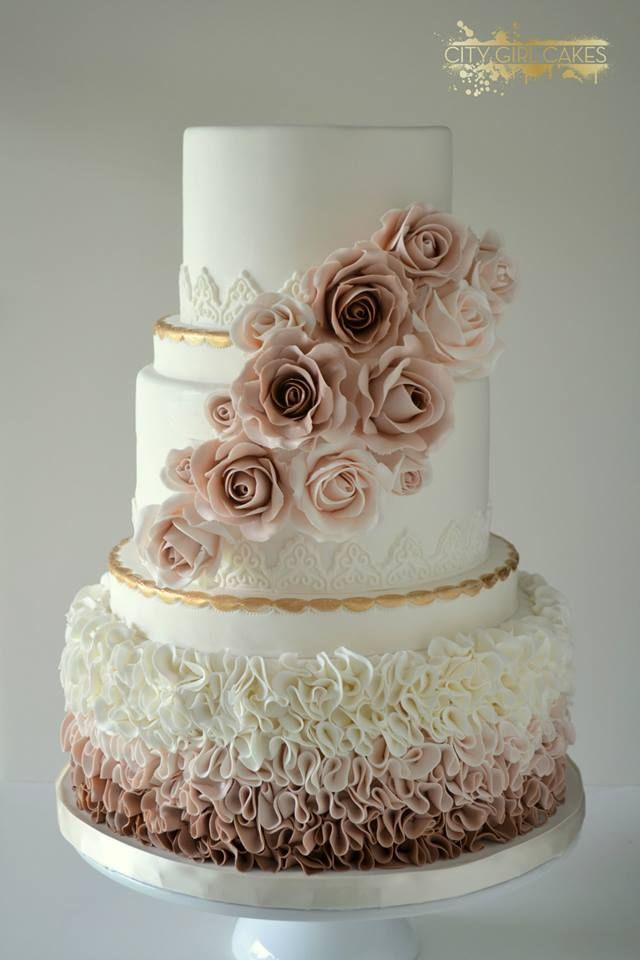 Divine Wedding Cakes For Your Big Day Wedding Mauve And