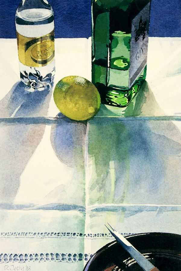 Gin and Tonic  Artist Ronald Jesty