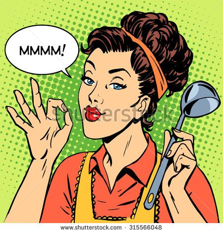 pop art cook - Yahoo Image Search Results