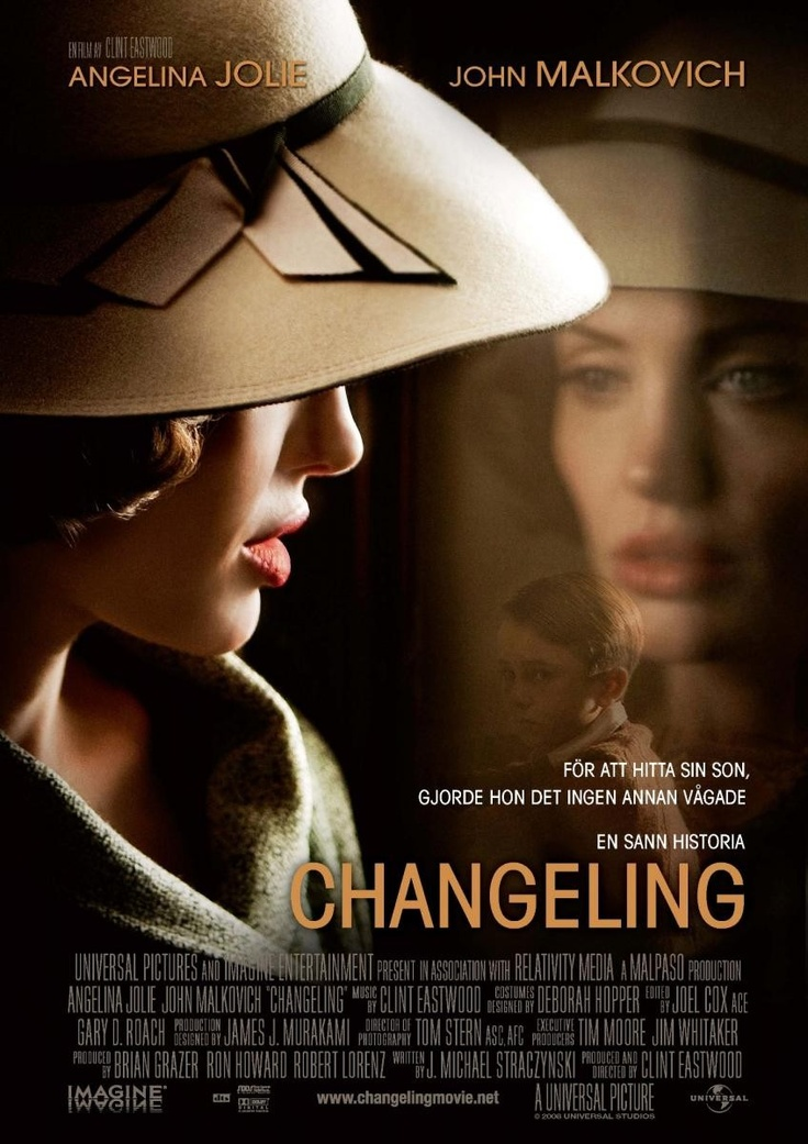 Changeling.  I was so surprised at how good this movie was! A very captivating and suspenseful story.