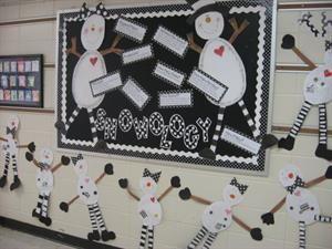 School door decorations and bulletin board ideas