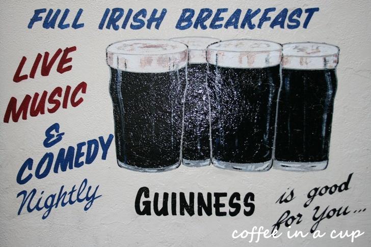 full irish breakfast = 4 pints of guinness :)