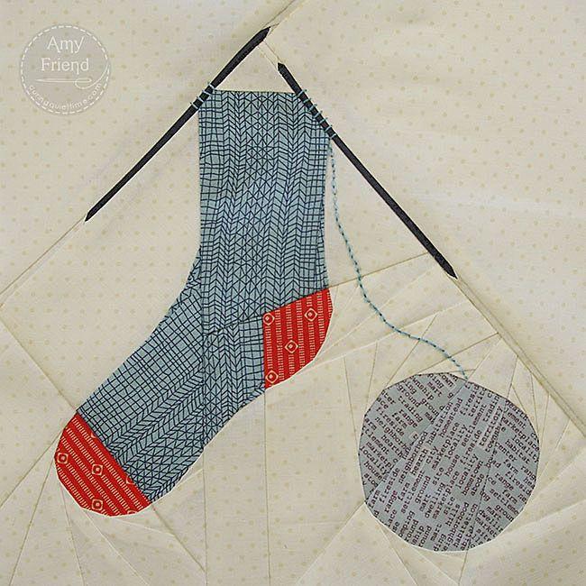Knitted Quilt Block Patterns : Best quilt paper piecing foundation