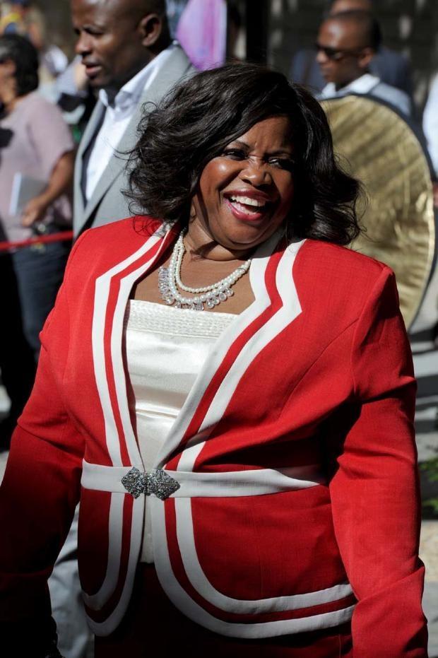 SONA 2013 Fashion   Violet Siwela, Mpumalanga Province Deputy Speaker   Moneyweb.co.za