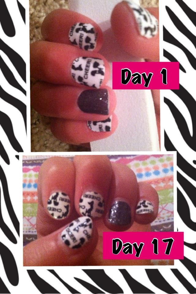 Jamberry really lasts. www.angietrader.jamberrynails.net