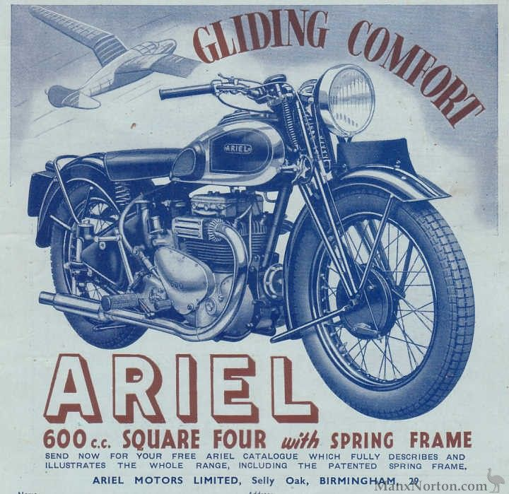 Classic British Four-cylinder Motorcycles | Sheldons EMU