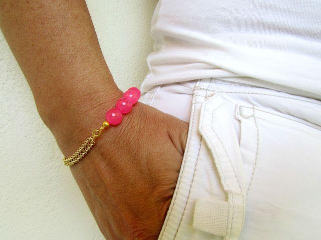 DIY Double Chain Beaded Bracelet!!!!