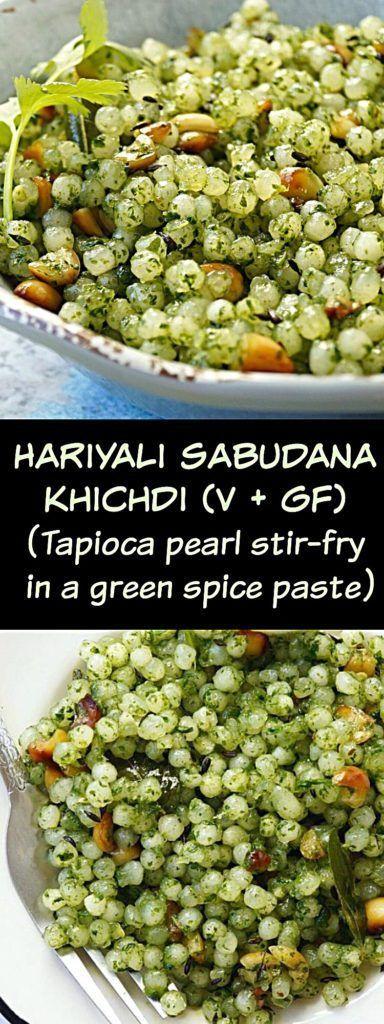 Hariyali sabudana khichdi | Sabudana khichdi in green masala #sabudana #sabudanakhichdi #hariyalisabudanakhichdi #tapioca #veganfood #glutenfree @aromaticessence