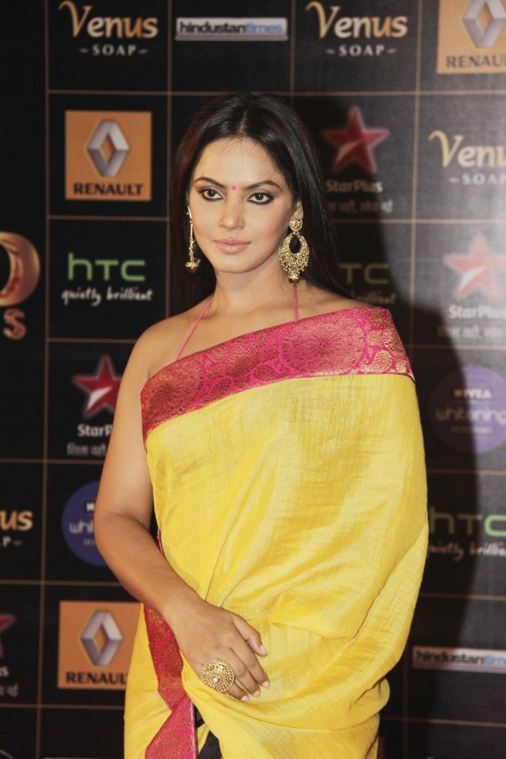 Neetu Chandra at  The Renault Star Guild Awards 2013.