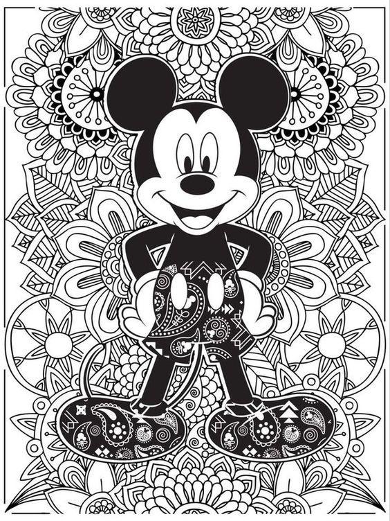Image Result For Ausmalbilder Für Erwachsene Disney Malvorlagen