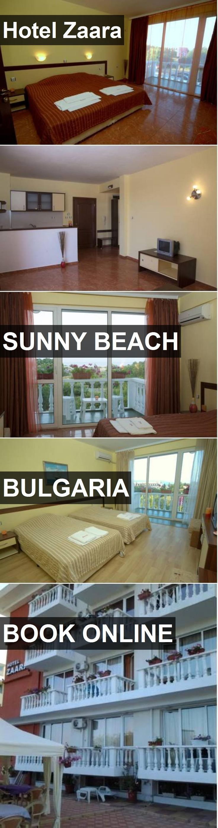 Hotel Hotel Zaara in Sunny Beach, Bulgaria. For more information, photos, reviews and best prices please follow the link. #Bulgaria #SunnyBeach #HotelZaara #hotel #travel #vacation