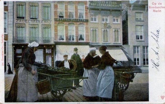 1905 Op de Bredase markt