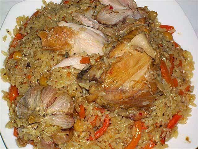 Самые вкусные рецепты: Плов с курицей