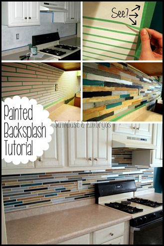 painted backsplash slate subway tiles tile awesome and if
