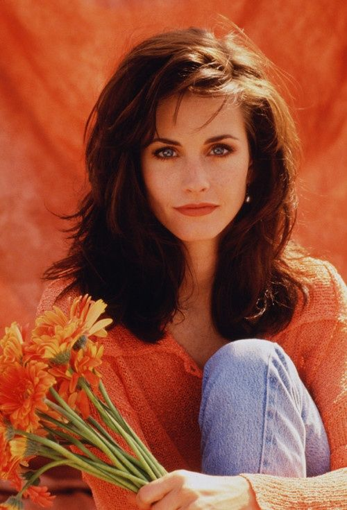 Young Courtney Cox