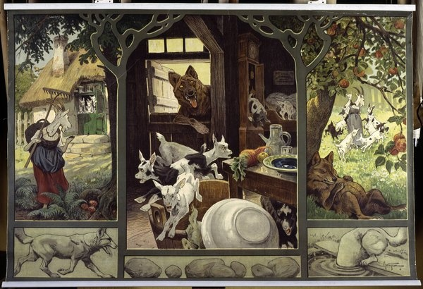 The Wolf and the Seven Little Goats, Alice in Baker Street