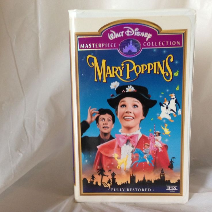 Mary Poppins (VHS, 1997) Disney Limited Edition Collectors Release