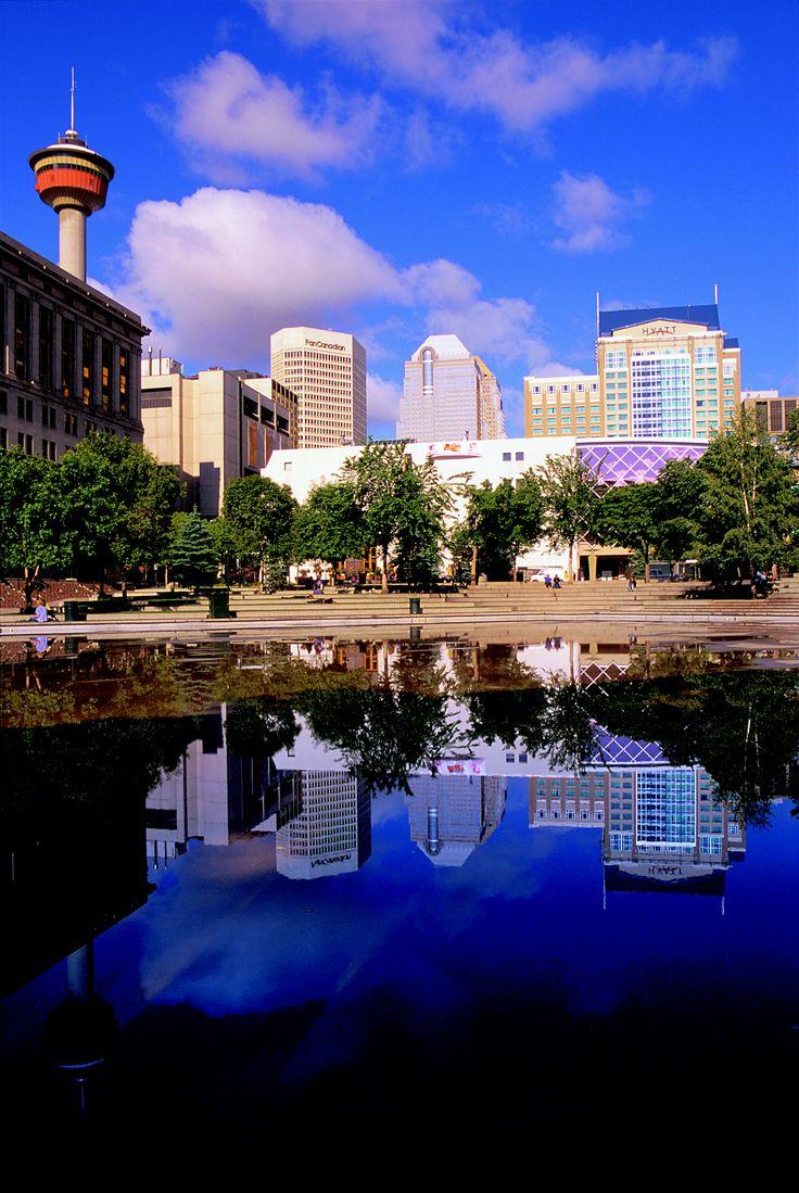Downtown Calgary on a sunny day. #yyc