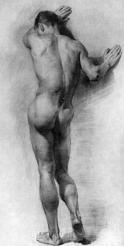 Artist?  Life drawing - Male pose