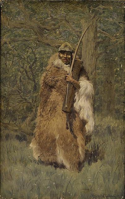 Native American Charles Wellington Furlong Aanakin by griffinlb, via Flickr
